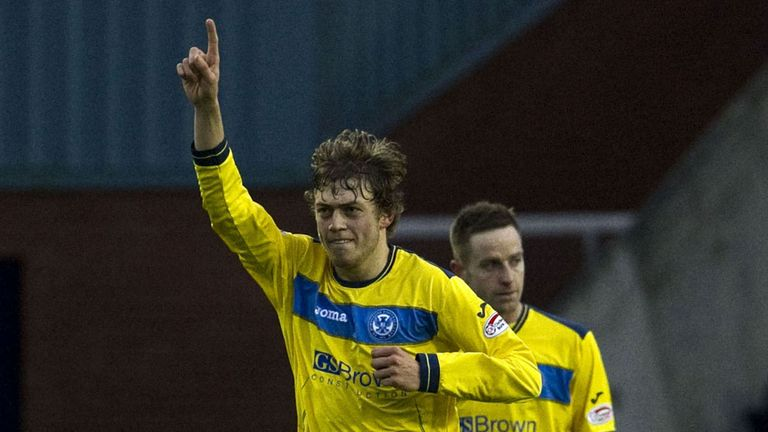 Murray Davidson: Had opened the scoring in the 1-1 draw at St Mirren