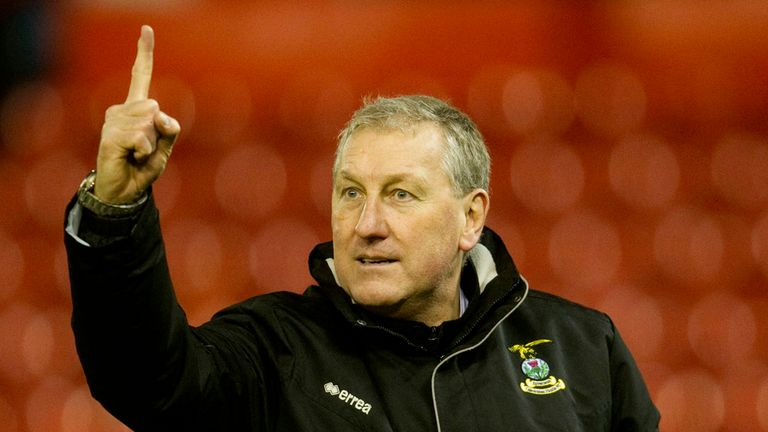 Terry Butcher: Inverness boss unimpressed with attendance in midweek