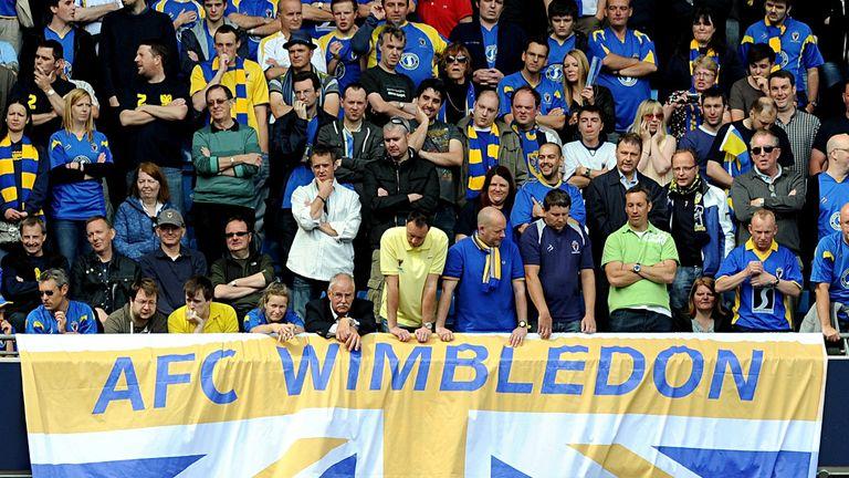 AFC Wimbledon fans: Urged to attend cup clash