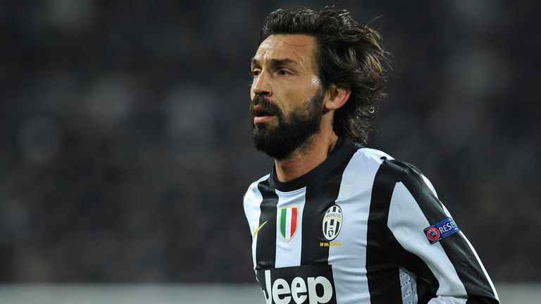 Andrea Pirlo: Wants Juventus to finish top of the group with a win in Donetsk