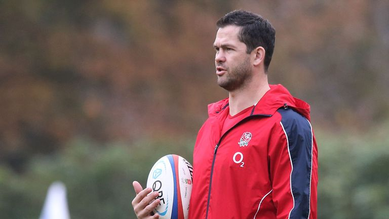 Andy Farrell: Doesn't want any kind of public spat