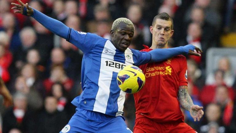 Arouna Kone: Is eyeing more goals for Wigan between now and the end of the season