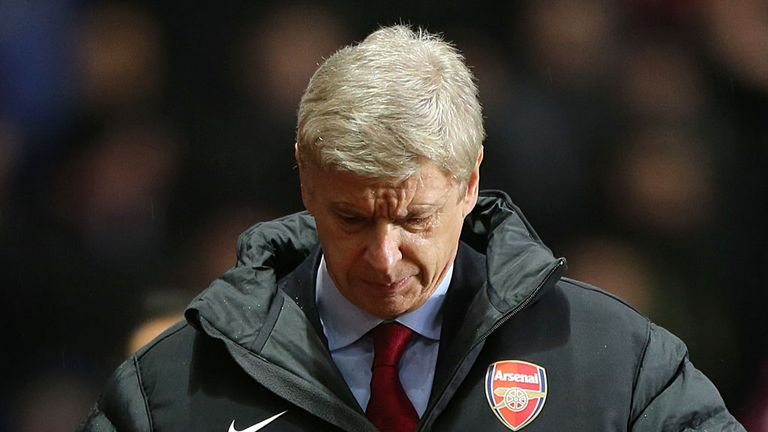 Wenger: has overseen his worst start as Arsenal boss