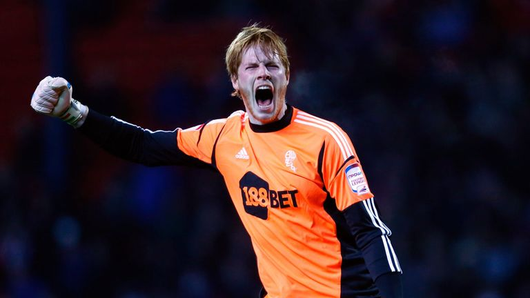 Adam Bogdan: Says he has always believed that Bolton can achieve promotion this year