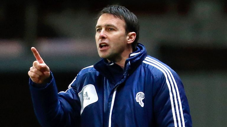 Dougie Freedman makes a point during 2-1 victory over Blackburn