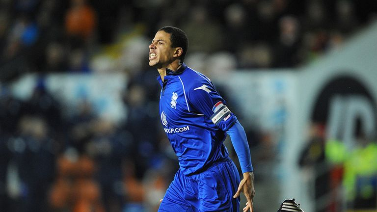 Curtis Davies: His equaliser ended poor run of form from his Birmingham side.