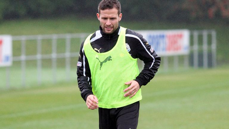Yohan Cabaye: Newcastle midfielder could be out until new year