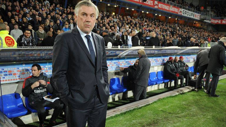 Carlo Ancelotti: Happy with side's response