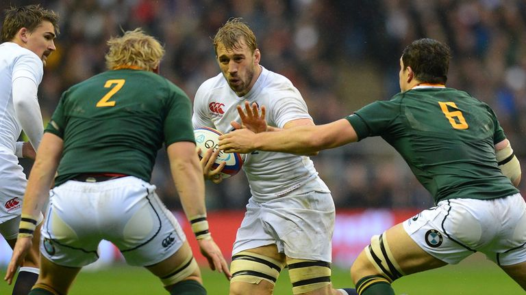 Chris Robshaw: another narrow defeat