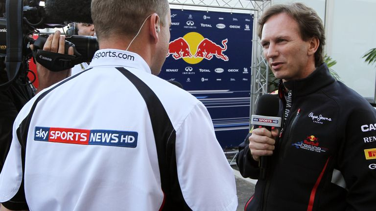 Christian Horner: Staying with Red Bull for a number of years yet