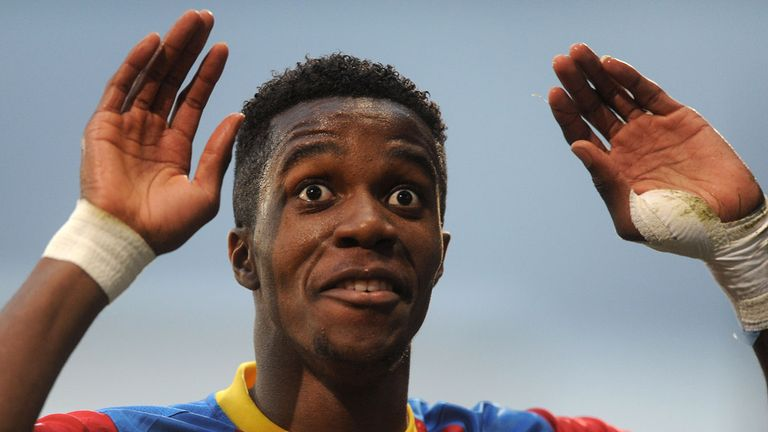 Wilfried Zaha: Spurned last-gasp chance for Palace