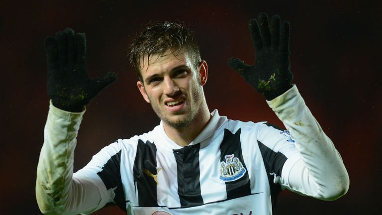 Davide Santon: Settled at Newcastle and not pushing for a move back to Italy