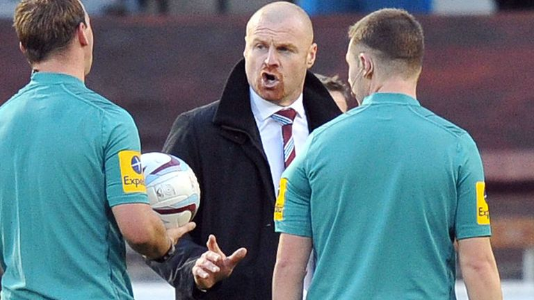 Sean Dyche: Positive despite defeat