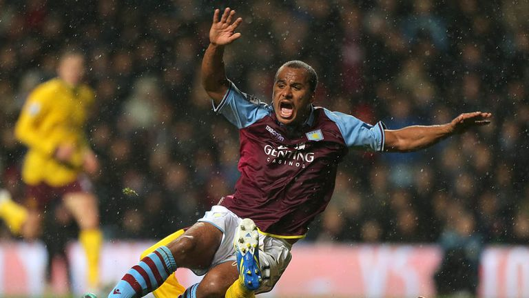 Gabriel Agbonlahor: Believes the future is bright at Villa Park