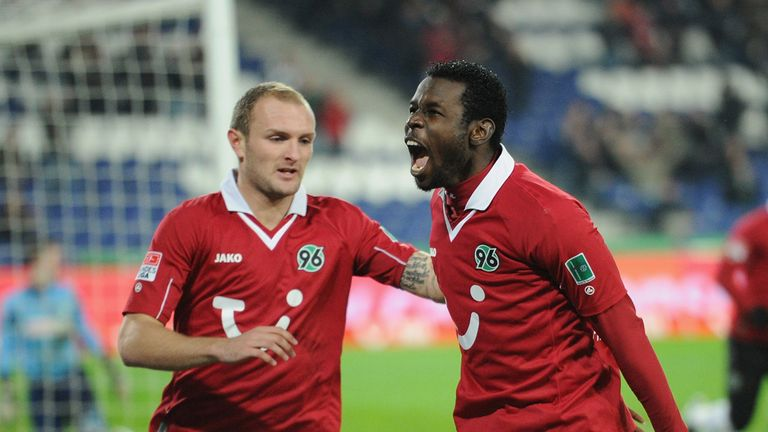 Mame Biram Diouf: Hannover striker's form is said to be interesting Borussia Dortmund