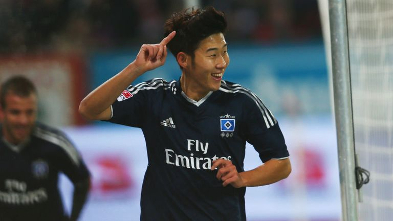Son Heung-min: May be sold by Hamburg at the end of the season