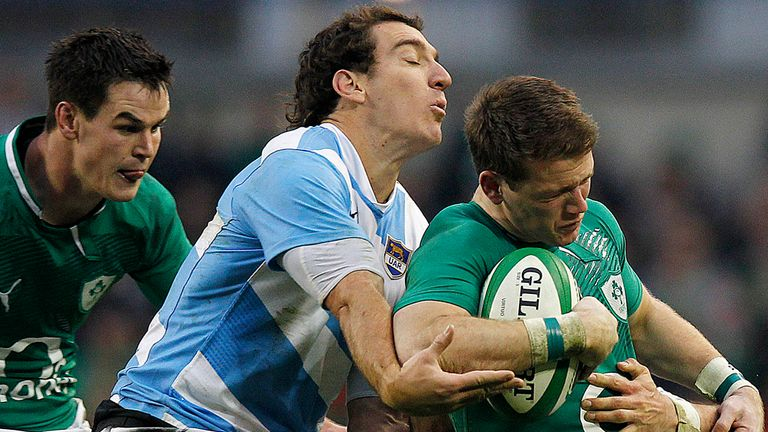 Craig Gilroy: Put in an impressive display on his Test debut against Argentina