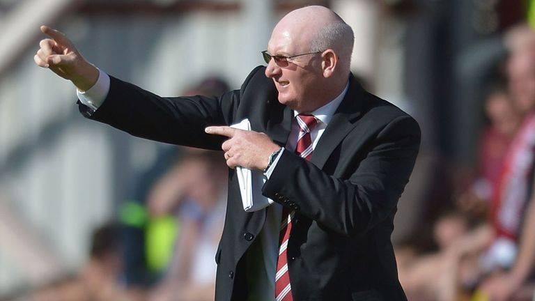 John McGlynn: Plans to go into the transfer market
