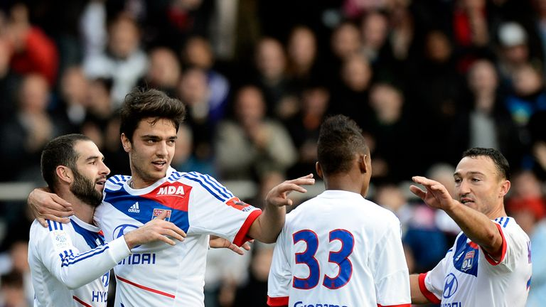 Lisandro Lopez: Scored for Lyon
