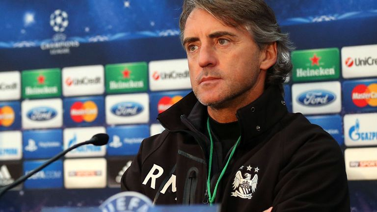 Roberto Mancini: Looking to finish off group campaign with a win