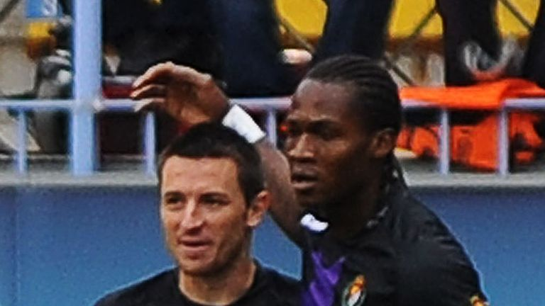 Manucho fired in the winner for Valladolid