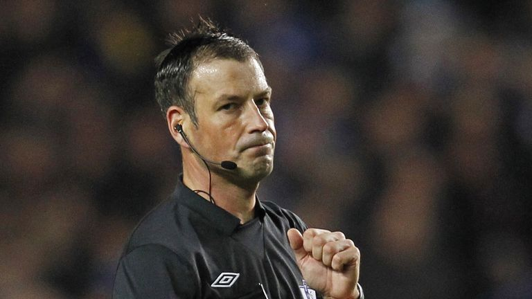 Mark Clattenburg: Referee set for quick return to action
