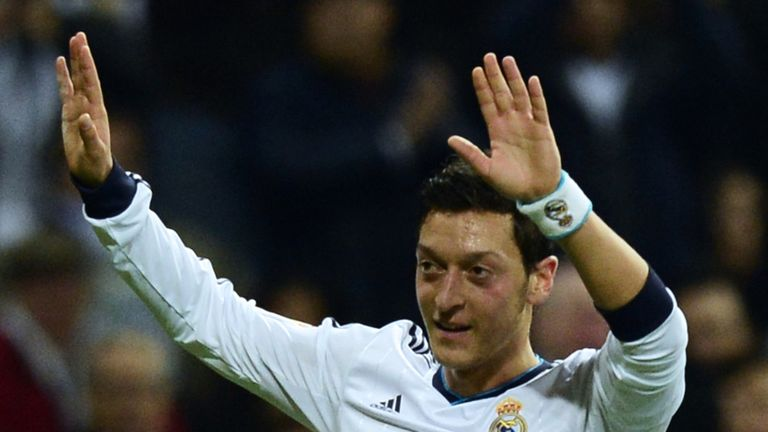 Mesut Ozil: Proud of 'player of the year' award