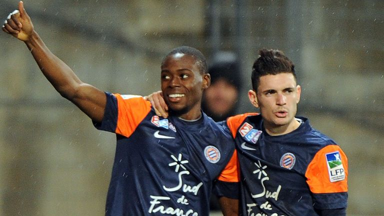 Tinhan and Cabella: Both scored for Montpellier