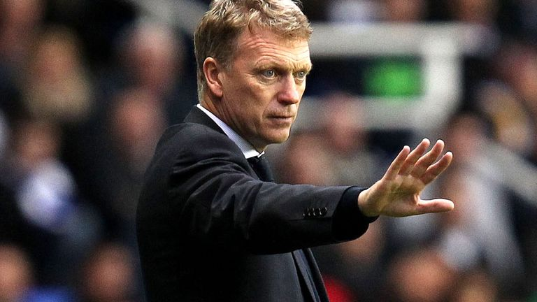 David Moyes: Is setting out to nullify the attacking threat of Manchester City