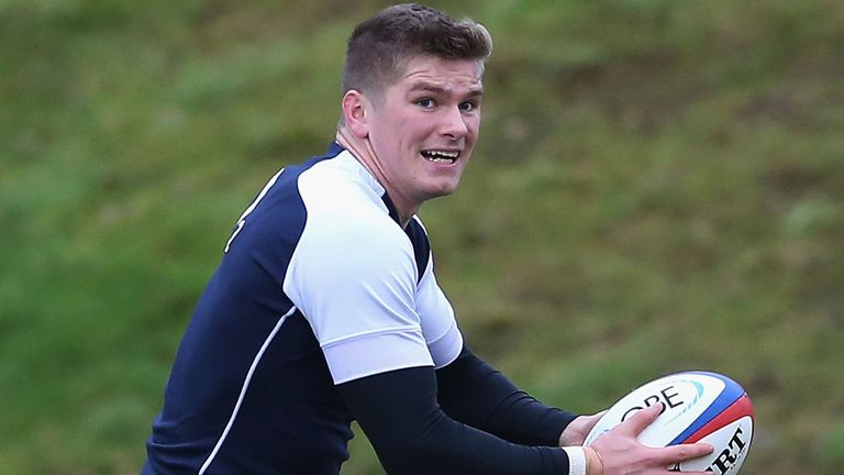 Owen Farrell: Will start at fly-half against the All Blacks