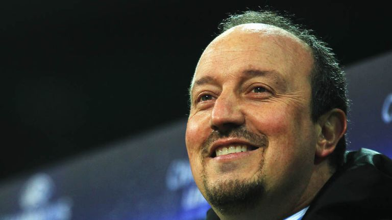 Rafael Benitez: Back in the Premier League after taking charge at Chelsea on interim basis