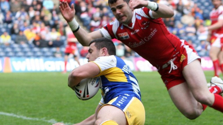 Rhys Williams: Ever present during loan spell with Salford