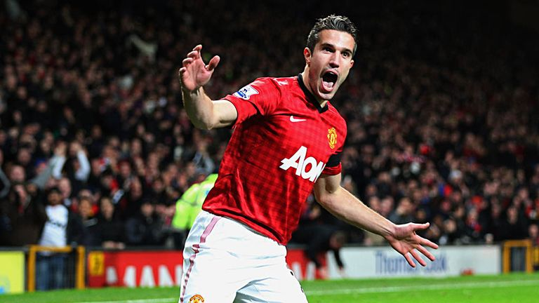 Robin van Persie: Twelve goals in 18 games for Manchester United