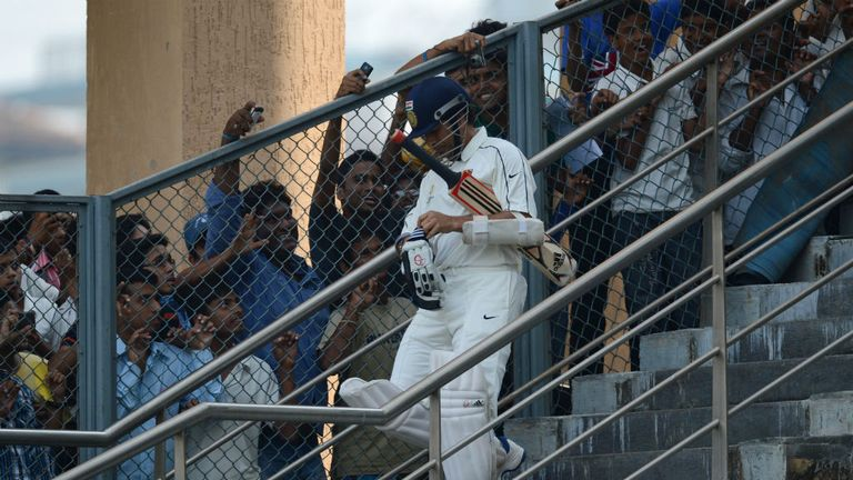 Sachin Tendulkar: Remains a hero in India but is coming under increasing scrutiny