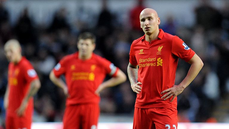 Jonjo Shelvey: Looking to force his way back into the Liverpool starting XI
