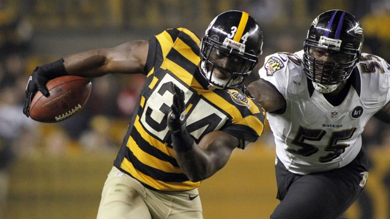 The Steelers and Ravens do battle