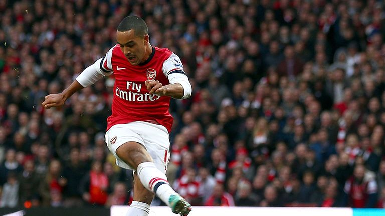 Theo Walcott: Scored Arsenal's fifth goal