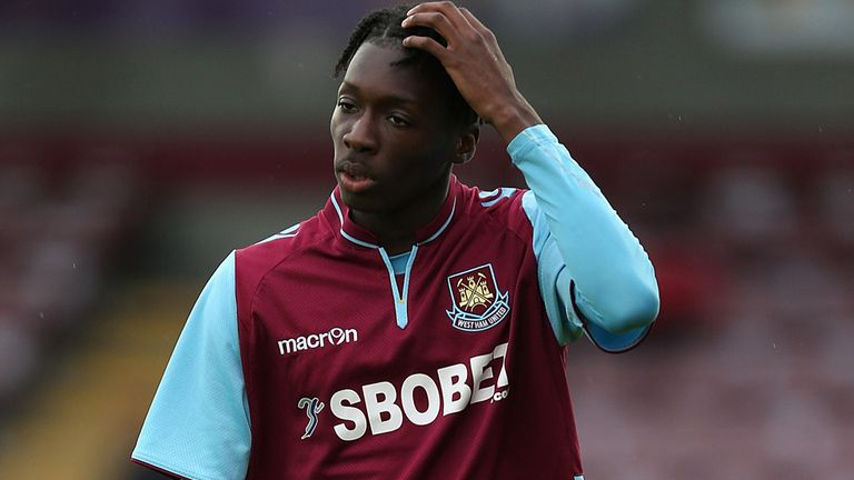 Blair Turgott: Returns to West Ham