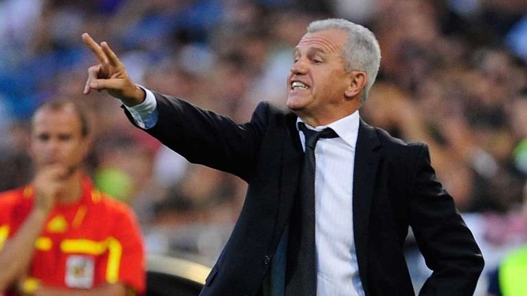 Javier Aguirre: Draw for new Espanyol coach