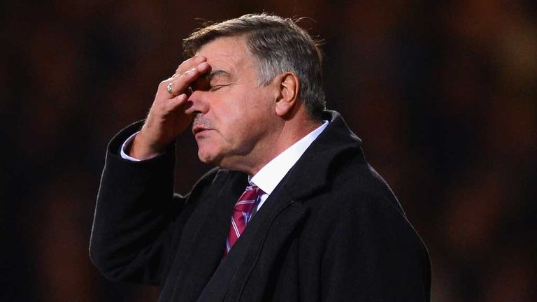 Sam Allardyce is preparing for a tough festive period for the Hammers