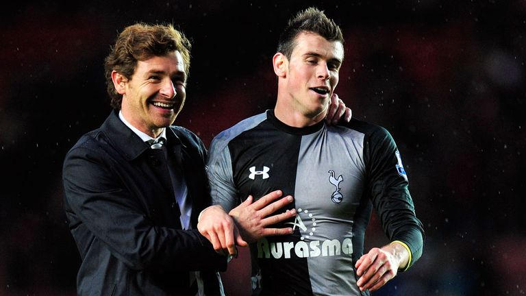 Andre Villas-Boas and Gareth Bale enjoy a fine working relationship