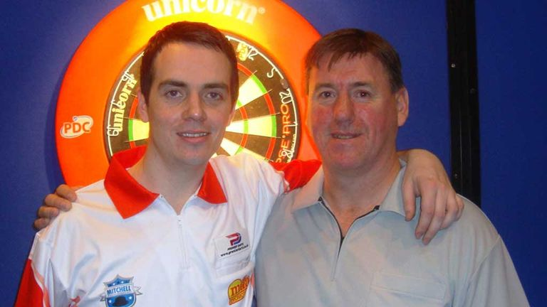 Stuart Kellett and John Bowles: Ally Pally delight for Cheshire duo