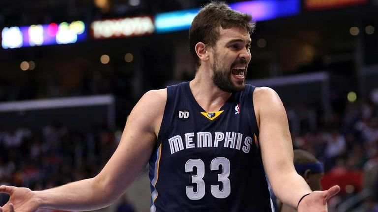 Marc Gasol: Starring role for the Memphis Grizzlies