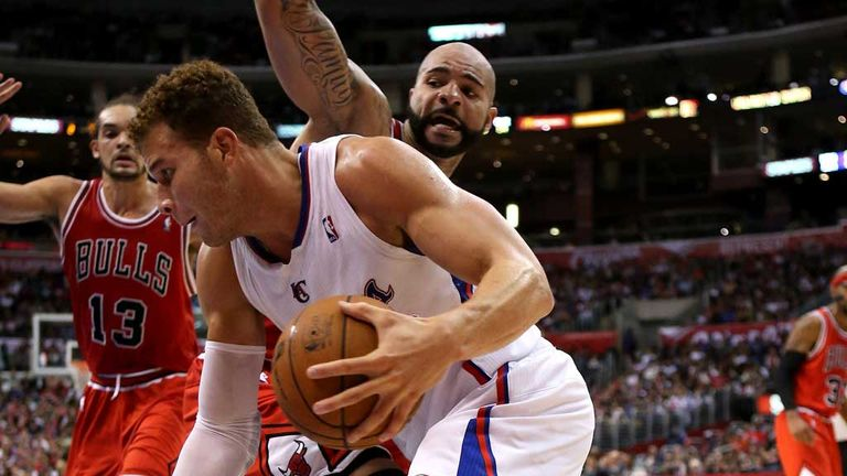 Blake Griffin: Key contribution in Los Angeles Clippers' win