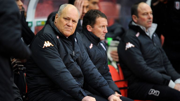 Martin Jol: Not an easy afternoon at the Britannia