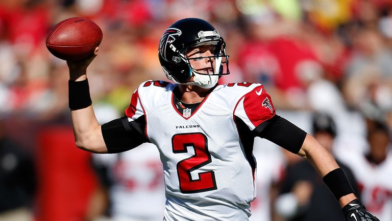 Matt Ryan: Threw for 353 yards as the Falcons moved to 10-1