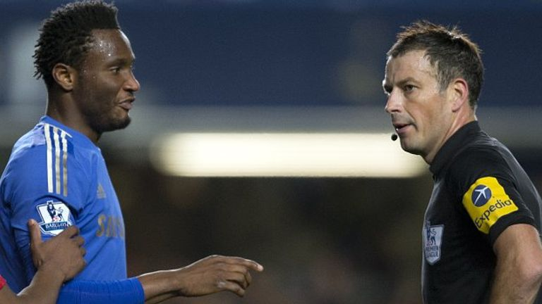 John Obi Mikel: Charged by the FA over Mark Clattenburg incident