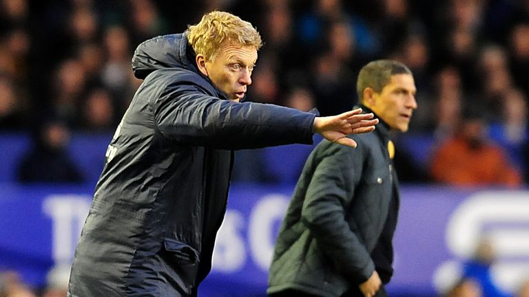 David Moyes: Everton boss was irked after conceding a late equaliser to Norwich