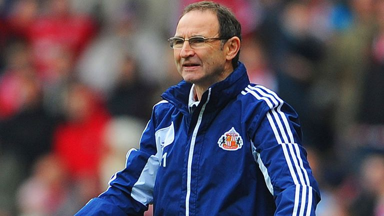Martin O'Neill: Has come under pressure after winning just two of Sunderland's last 23 Premier League matches