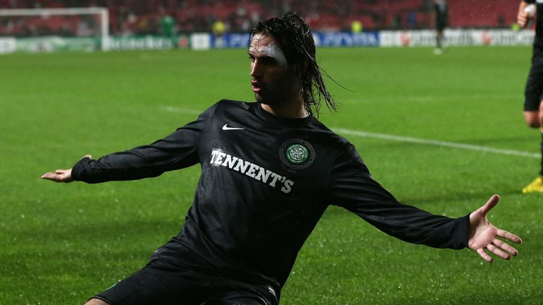 Georgios Samaras: Remaining positive despite criticism of Celtic